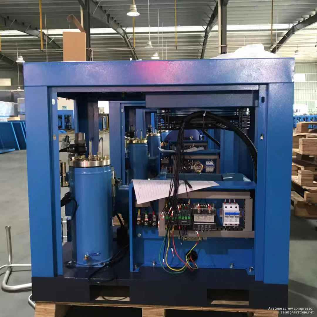 230V 3 phase direct drive screw air compressor 37KW 50HP 10 bar for industry air-compressor machine