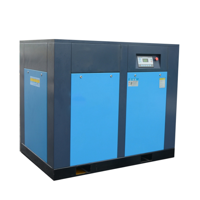 running stably zero failure rate screw air compressor 75kw 100hp