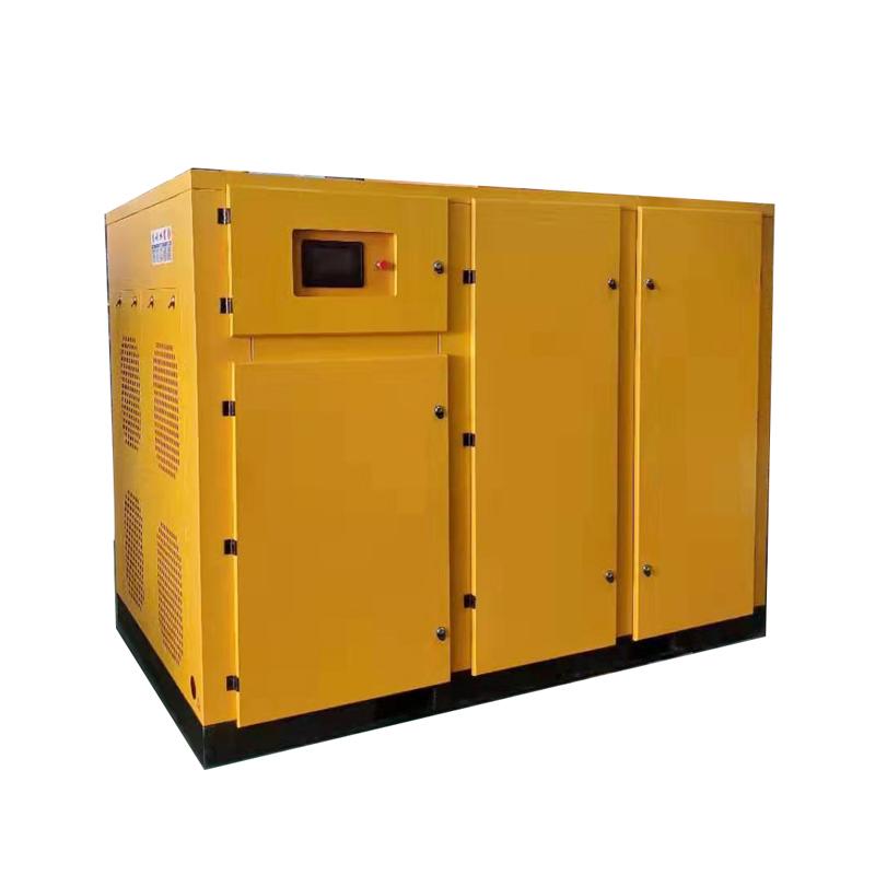 Energy-saving air compressor 200HP 160KW screw air compressor