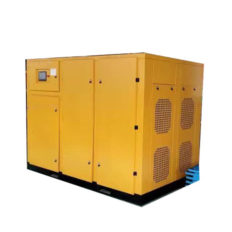 185kw 250HP 8 bar Good Source of Materials Industrial Air Compressor
