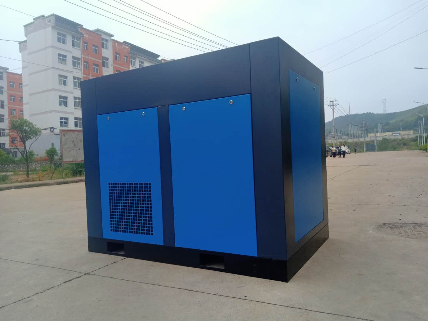 250HP/185KW Rotary Air Compressing Machine