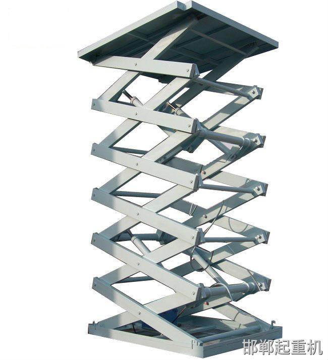 Hydraulic lift table (50)