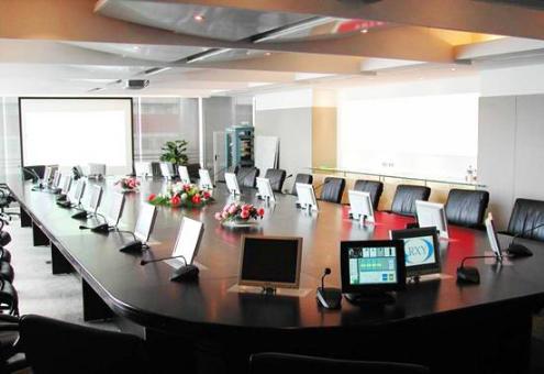 北海的公司會議室都用拖機寶干什么