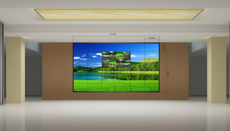 北海拼接屏大屏幕顯示系統安裝維修