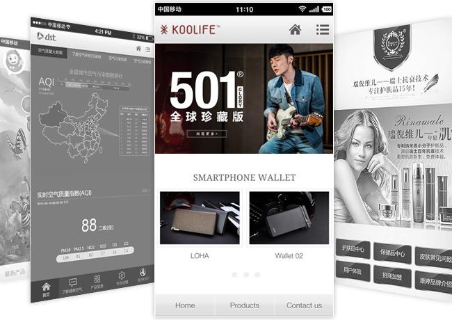 广州手机网站设计公司天青科技