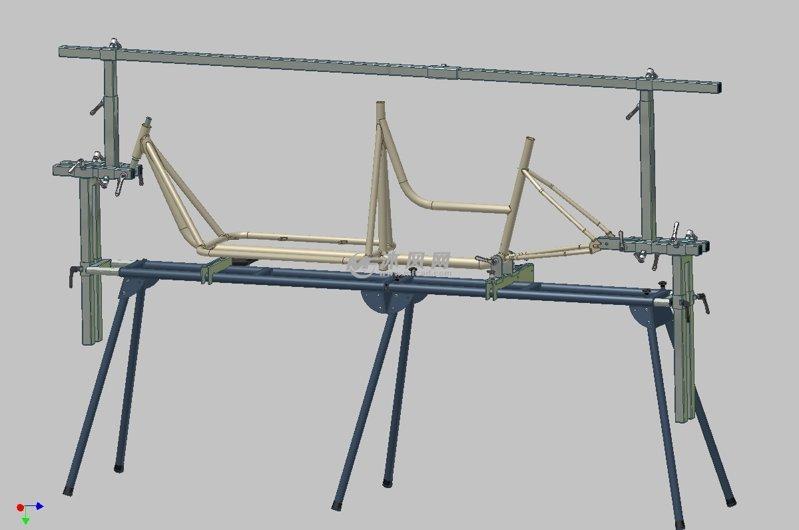 有关自行车焊接夹具的图片