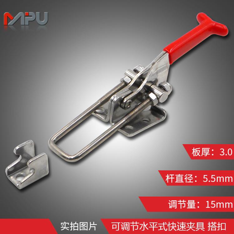 快速夹具使用 ML5-010-2S 304不锈钢材质