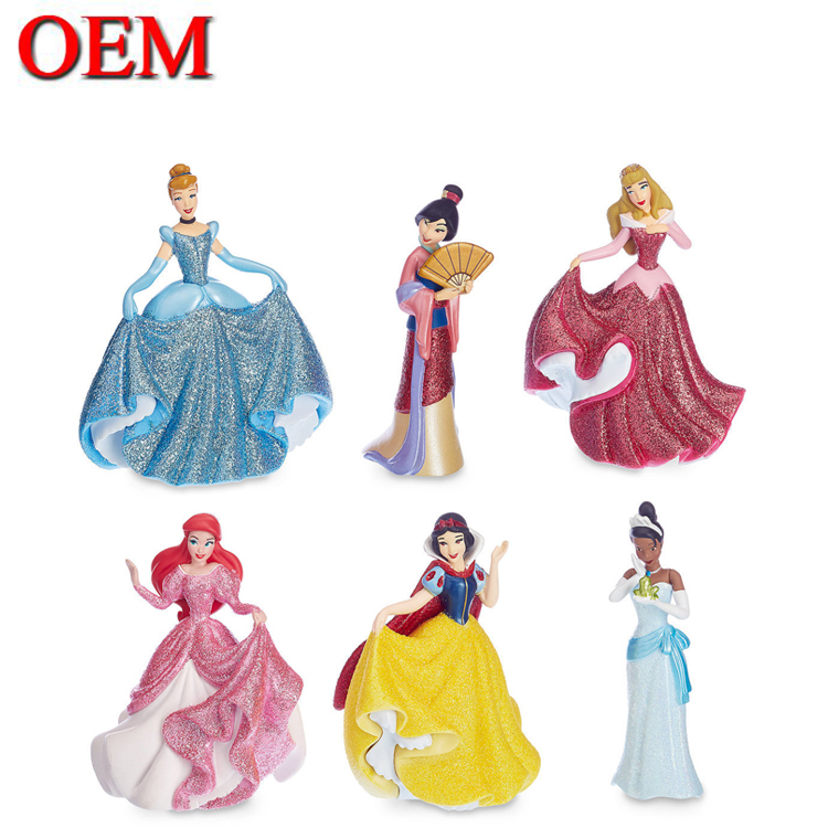 Customized Manufacturer Princess Figure Toys PVC Figure
