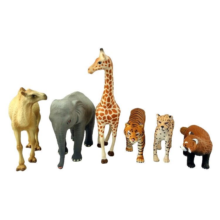 Attractive Designs Good Quality Mini Figure Collections Zoo Animal Set Toy