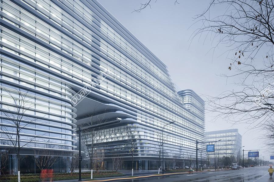 杭州西溪首座商业综合体建筑