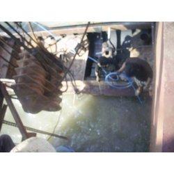 水下清理船体