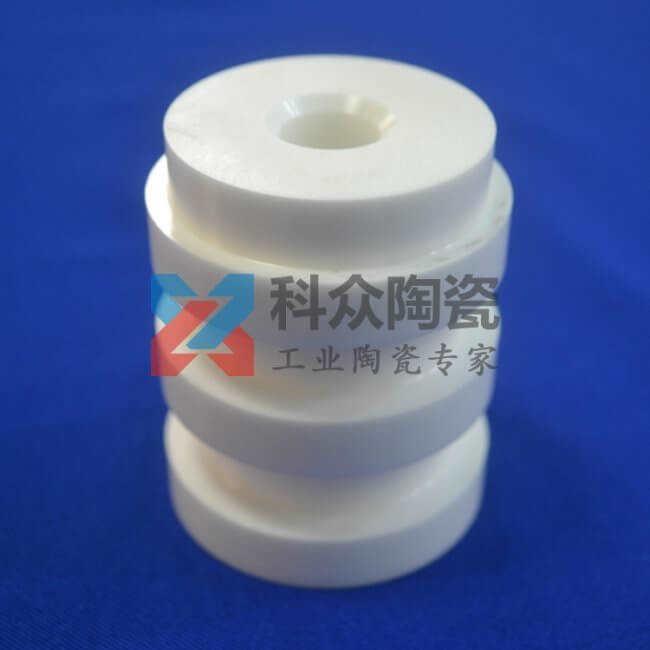 氧化锆工业陶瓷管开槽加工