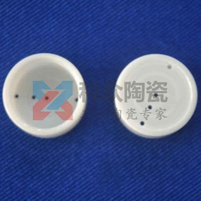 氧化锆工业陶瓷管打孔