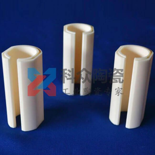 氧化铝耐温工业陶瓷管