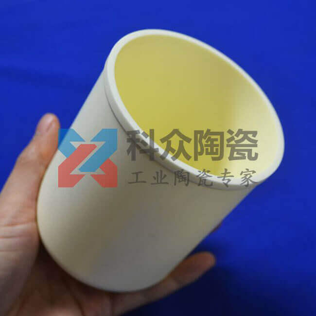 刚玉工业陶瓷坩埚
