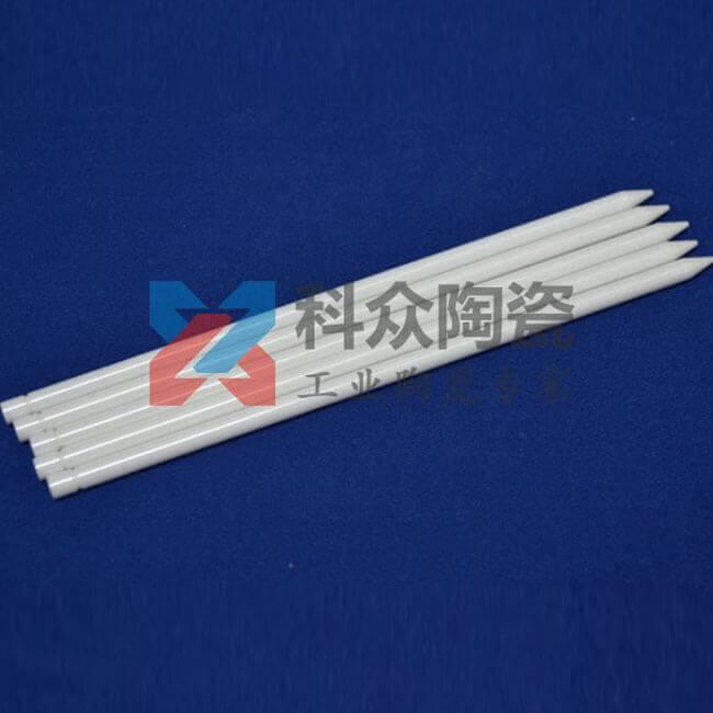 白色蓝色工业陶瓷棒