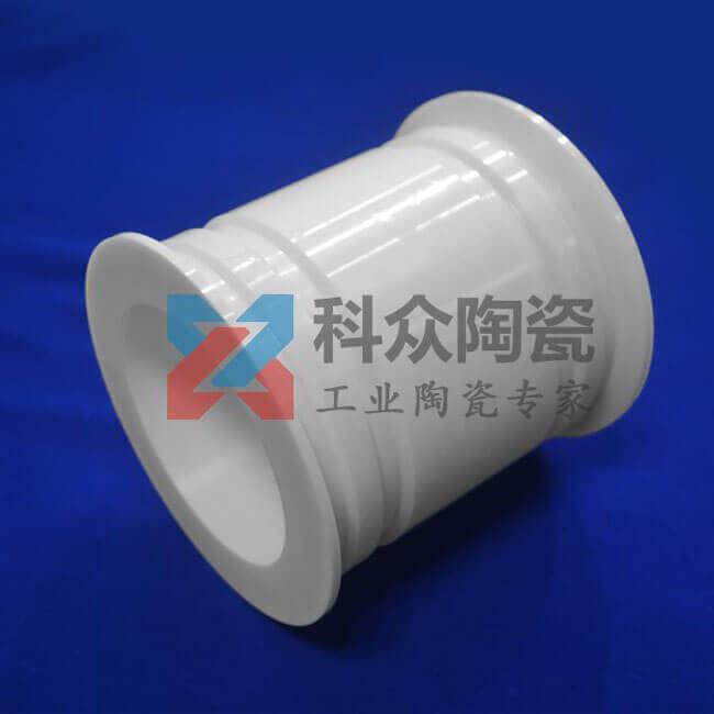 刚玉耐磨工业陶瓷管