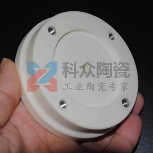 95氧化铝工业陶瓷块拼接金属