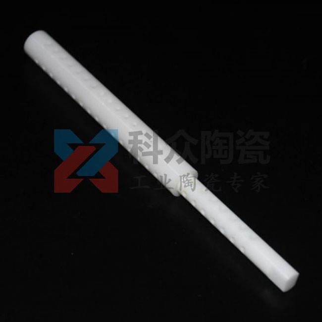 氧化锆工业陶瓷管套打孔