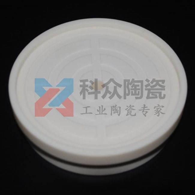95氧化铝工业陶瓷圆板精密加工