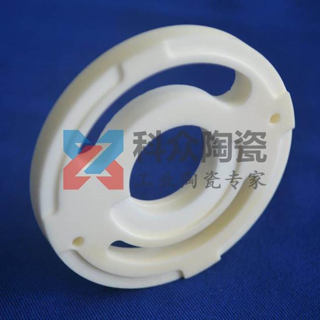 异形99氧化铝工业陶瓷环精加工