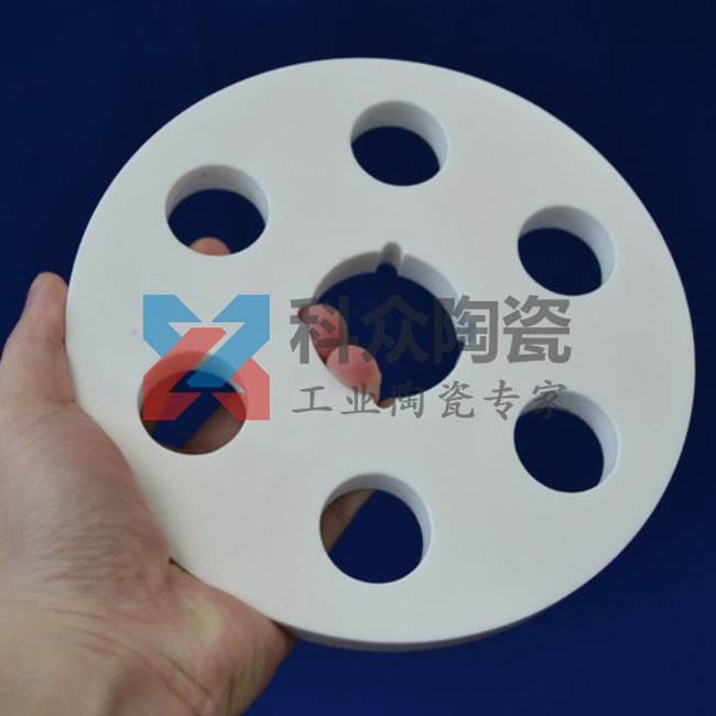 95氧化铝工业陶瓷圆板多孔