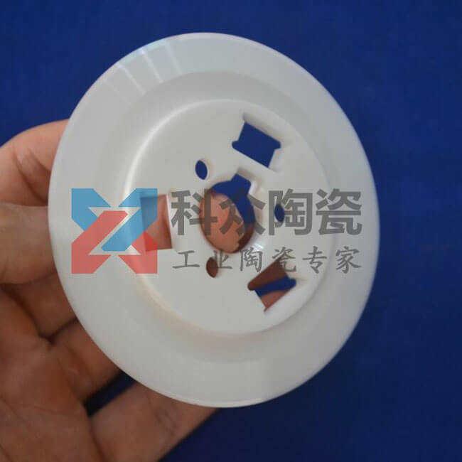氧化锆工业陶瓷环精密加工