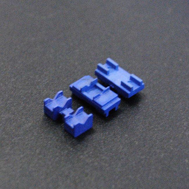 蓝色氧化锆工业陶瓷零件精密加工