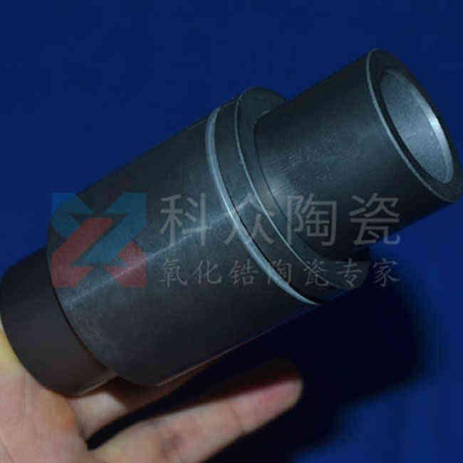 黑色氧化锆工业陶瓷轴套