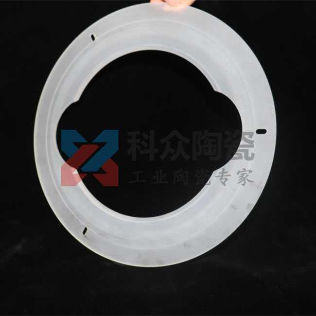微晶玻璃工业陶瓷大圆环加工