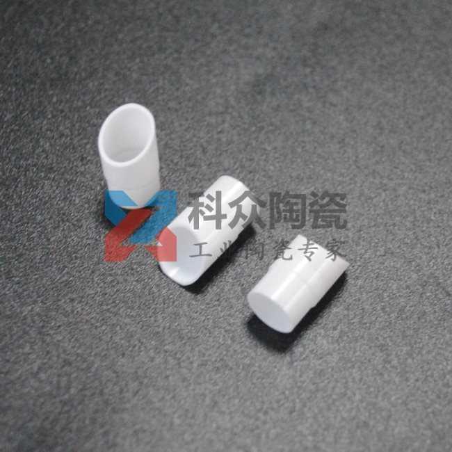 氧化锆工业陶瓷管斜面加工