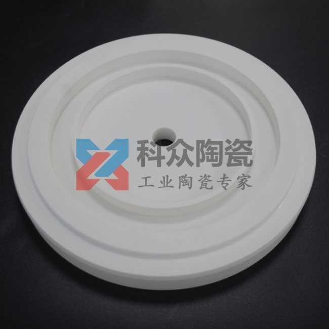 95氧化铝工业陶瓷板法兰盘
