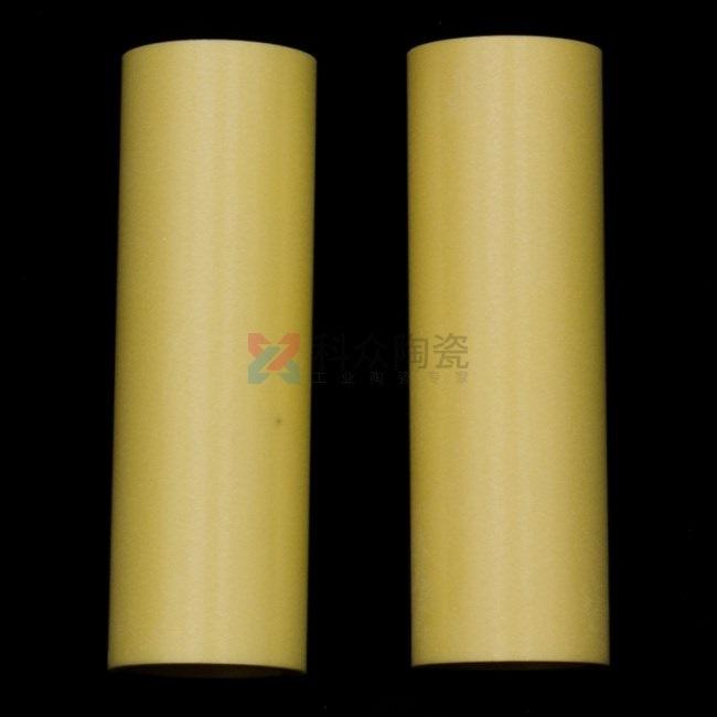 黄色氧化锆工业陶瓷管