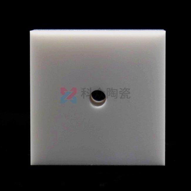 氧化锆工业陶瓷块打孔