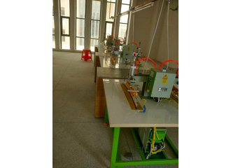 气动式合片机应用