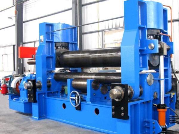 液压式三辊卷板机