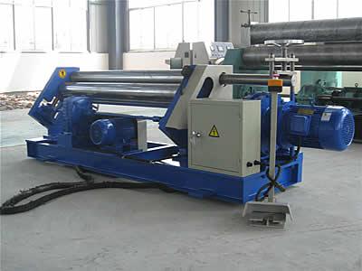 W11三輥機械非對稱卷板機