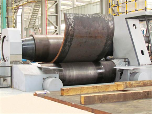 W11X-25X2000水平下調式卷板機