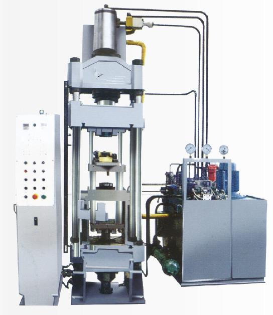 粉末成型液壓機