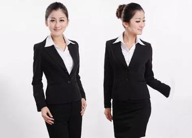 三种不同风格的女士职业装搭配方案