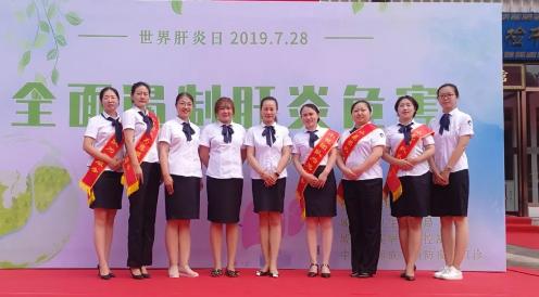 重慶疾控中心定制工作服展示新形象