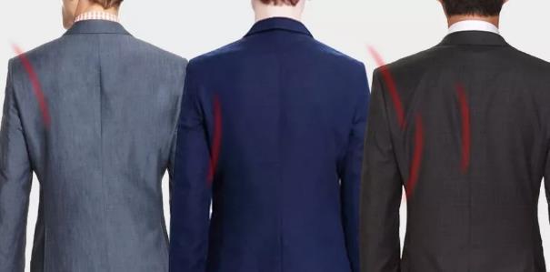 定制西装的背宽为什么会出现大很多的情况?