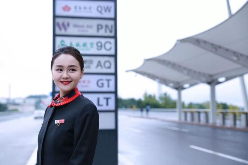 重庆空姐制服,航空万博mantex手机登录定制,空姐制服定做,机场地勤工装