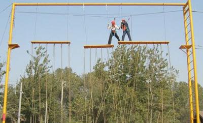 拓展训练项目:合力过桥