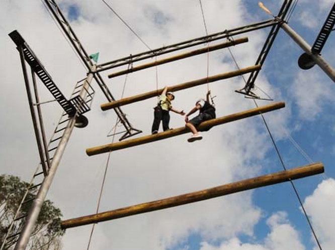 高空拓展项目:天梯