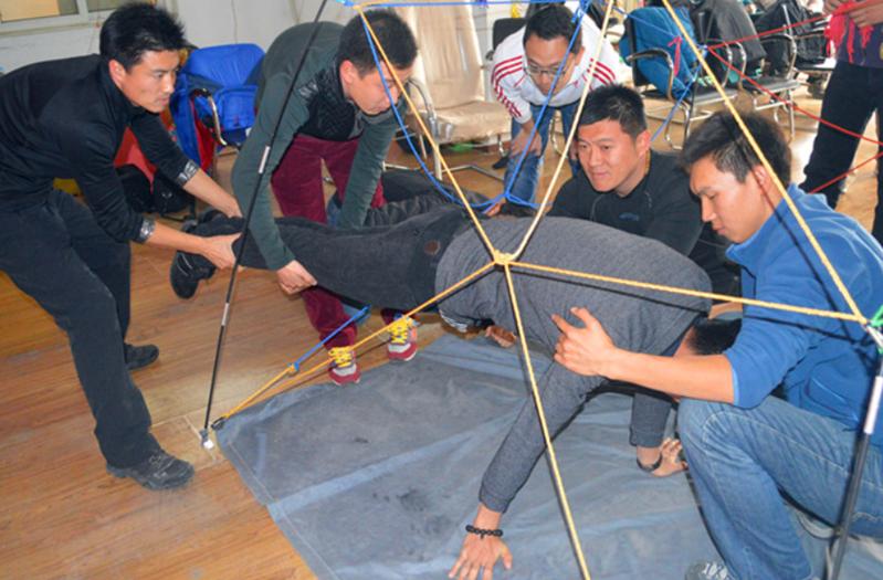 拓展训练项目:立体电网