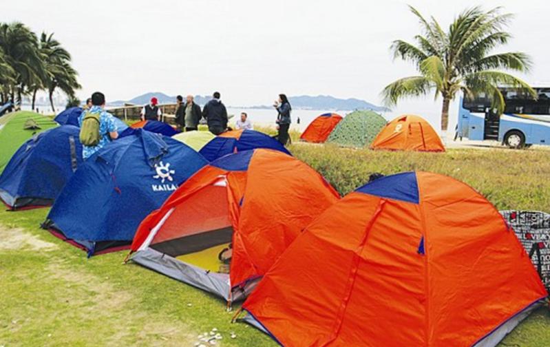 拓展训练项目:搭帐篷