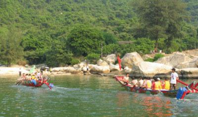 拓展训练项目:赛龙舟