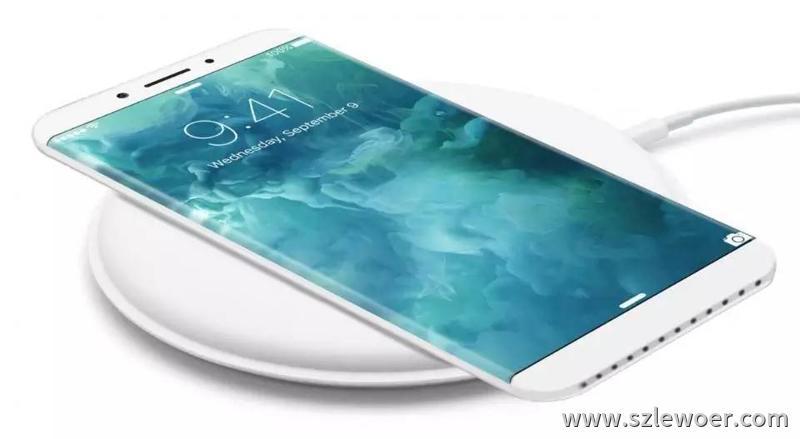苹果iPhone 8手机原生支持主流的无线充电标准Qi标准无线充电器