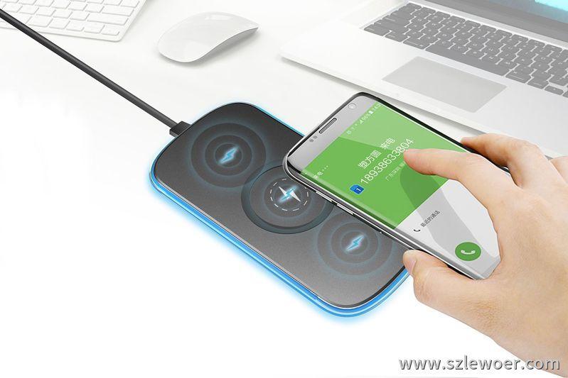 一款多用途手机无线充电器